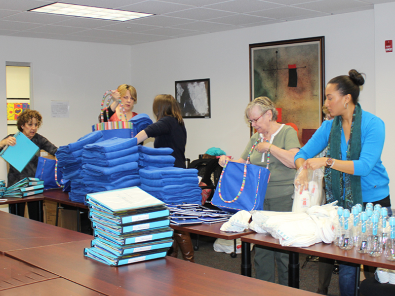 assembling patient care bags2